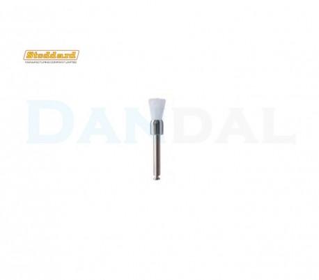 Stoddard - White Nylon Prophy Brush