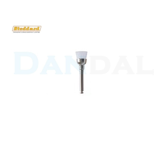 Stoddard - White Nylon Prophy Brush - Cup