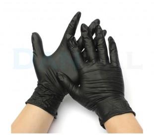 دستکش نیتریل بدون پودر Supermax - Bold