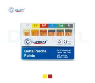 GapaDent - Gutta percha Accessory Size