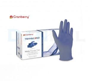 دستکش نیتریل بدون پودر Cranberry - Transcend