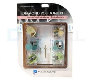 کیت پرداخت 3 رنگ Microdont - Polidont