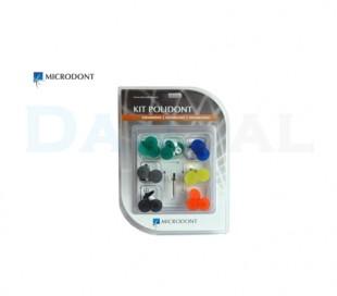 Microdont - Polidont 5 Colors Diamond Discs Set