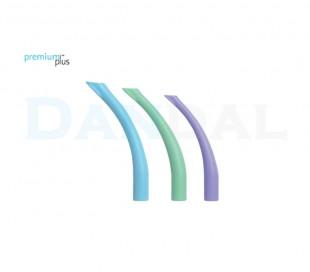 Premium Plus - 16mm Curved HVE Suction Tubes