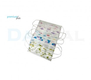 Premium Plus - Face Mask With Pattern