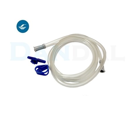 Supa - Disposable Suction Tubes with Fingertip and Clamp