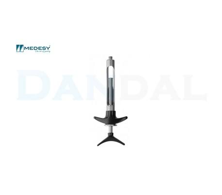 Medesy - Aspirating Folding Straight Handle Syringe