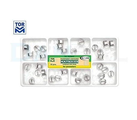 Tor VM - Transparent Contoured Matrices Combined with Clamp Kit