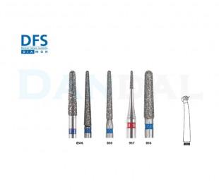 فرز الماسی مدل مخروطی لبه گرد توربین - DFS