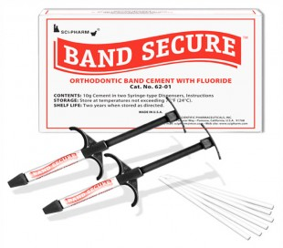 Sci-Pharm - Band Secure Orthodontic Band Cement with Fluoride