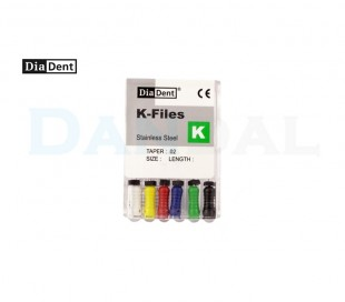 DiaDent - K-File 31mm Assorted