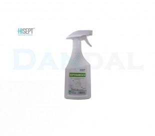 محلول سپتی سرفیس نیم لیتری ویژه تجهیزات - Hisept