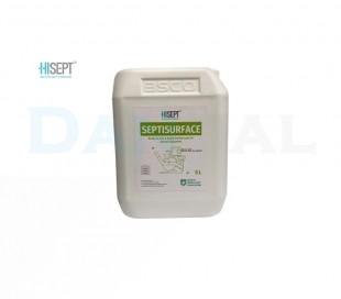 محلول سپتی سرفیس پنج لیتری ویژه تجهیزات - Hisept