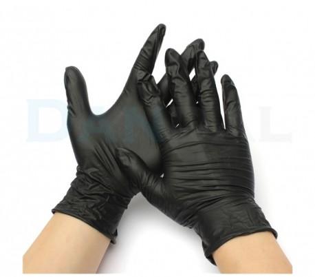 دستکش نیتریل بدون پودر Op-Perfect Bold & Black - حریر