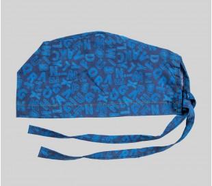کلاه طرح حروف آبی - شایگان