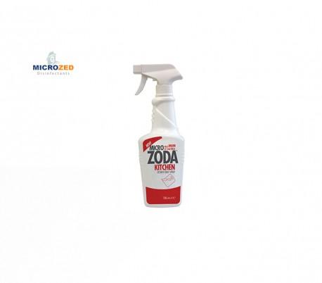 محلول ضدعفونی کننده میکروزدا کیچن 750 سی سی ویژه ابزار آشپزخانه - Microzed