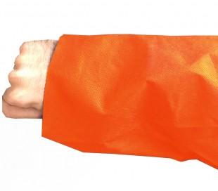 گان بیمار ساده تک عددی نارنجی - ETP