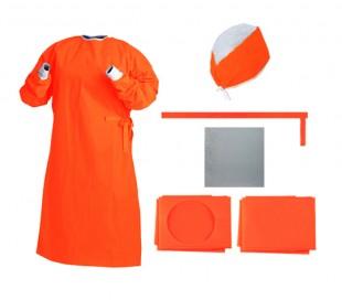 پک جراحی استریل ساده نارنجی - احسان طب پارسیان
