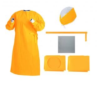 پک جراحی استریل ساده زرد - احسان طب پارسیان