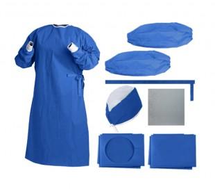 پک جراحی استریل نیمه آبی - احسان طب پارسیان