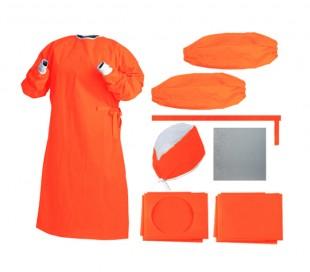 پک جراحی استریل نیمه نارنجی - احسان طب پارسیان