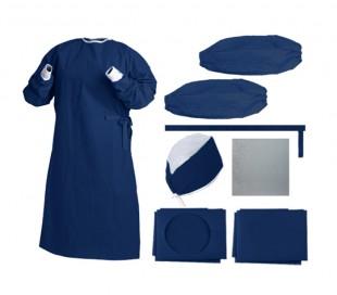 ETP - Sterile Disposable Half Pack Navy Blue
