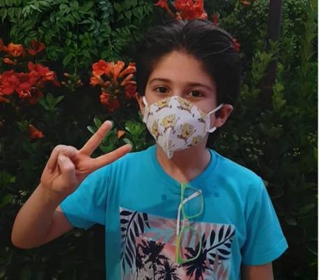 ماسک تنفسی پنج لایه اطفال - مدیسا پلیمر آریا