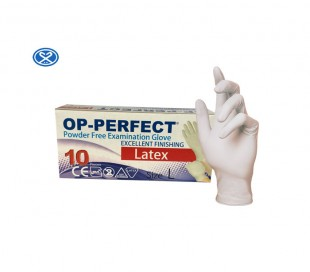 Harir - Op-Perfect Excellent Latex Examination Gloves 10PCS
