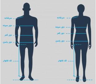 شلوار مردانه طرح جین - شایگان
