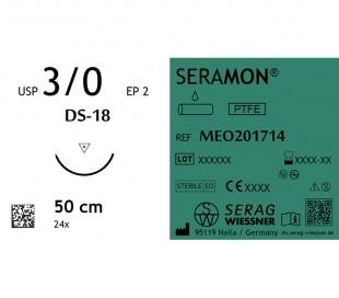 نخ بخیه 3/0 تفلون Serag-Wiessner - Seramon