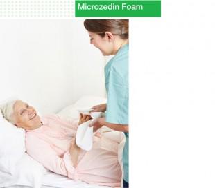 ضدعفونی کننده دست میکروزدین فوم 150سی سی - Microzed