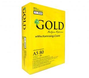 کاغذ A5 مدل TruTone - Gold