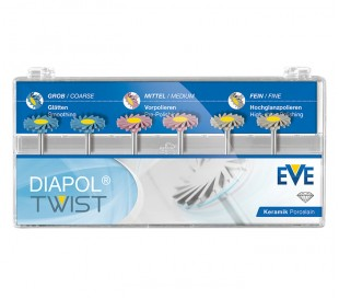 EVE - TWIST DiaPol for Ceramic Porcelain