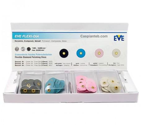استارتر کیت دیسک پرداخت الماسه EVE - Flexi-Dia