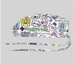 کلاه طرح Hospital - شایگان