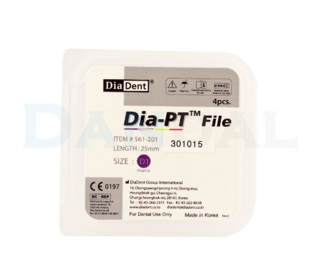 DiaDent - Dia-PT Rotary File One size