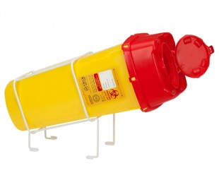 PIP - Metal Inclined Table-Support for RC plus Sharps Containers
