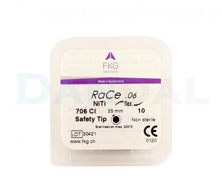 فایل روتاری RaCe بسته ۵ عددی - FKG