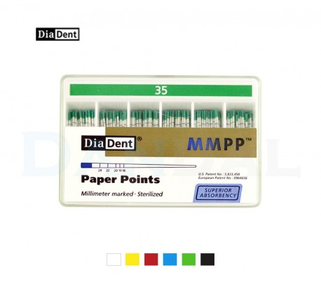 DiaDent - Marked Paper Points