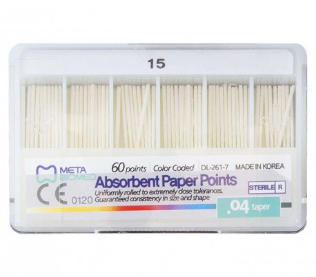 Meta - .04 Taper Paper point
