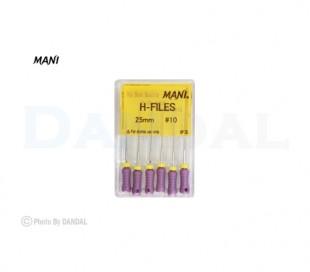 فایل دستی H طول 25 - Mani