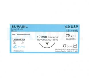 Supa - 4/0 Braided Silk Suture