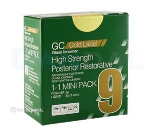 گلاس آینومر ترمیمی خلفی GC - Gold Lable