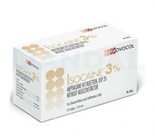 Novocol - Isocaine 3% Anesthetic