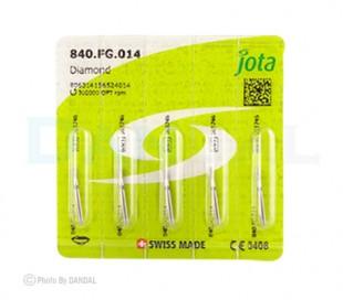 جوتا - فرز الماسی استوانه ای لبه گرد