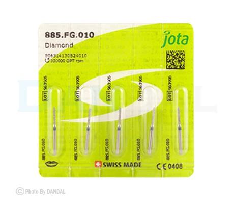 Jota - Diamond Burs - Cylinder with Bevel
