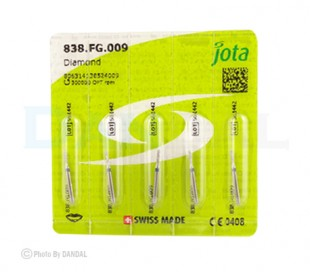 Jota - Diamond Burs - Round End Cylinders - FG