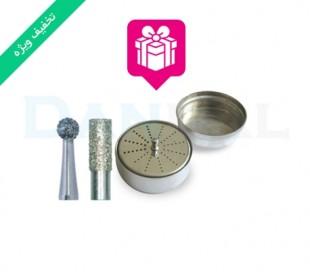 پکیج ویژه فرز الماسی استوانه ای ته صاف و روند - Jota