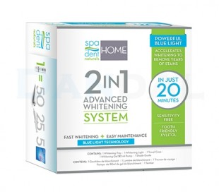 Spa Dent - 2in1 LED Home Whitening kit