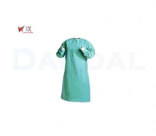 گان جراح بلند سبز رنگ - روشا طب کسرا